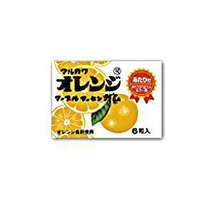 丸川製菓 オレンジマーブルガム 6粒×33入