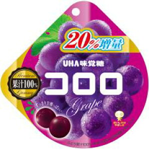 UHA味覚糖 コロログレープ 48g×6入