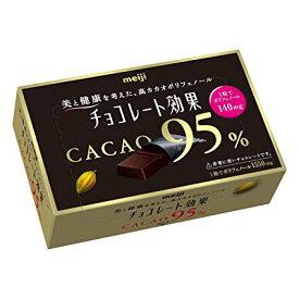 明治 チョコレート効果カカオ95% 60g×5箱入【5月から9月まで商品保持のためクール便+200円で発送になります。】