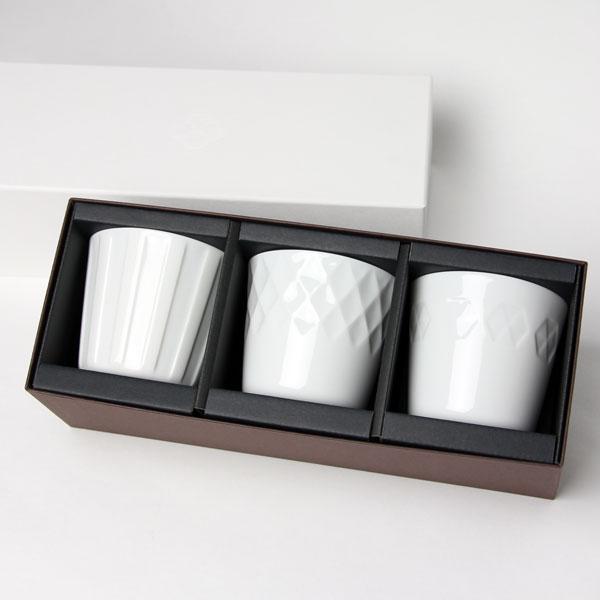 プレゼント包装無料!!小田陶器honoka ほのかロックギフトセット3個入り/美濃焼/日本製