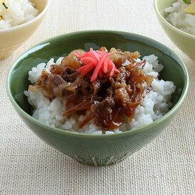 miyama/深山/ネスト 親子茶碗 L(パパサイズ)天目、織部/美濃焼/日本製
