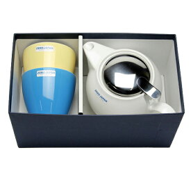 ZEROJAPAN/ゼロジャパン/色が選べるギフトセット ユニバーサルティーポット 4人用(580cc)+ティーカップトール2個/陶器/美濃焼/日本製