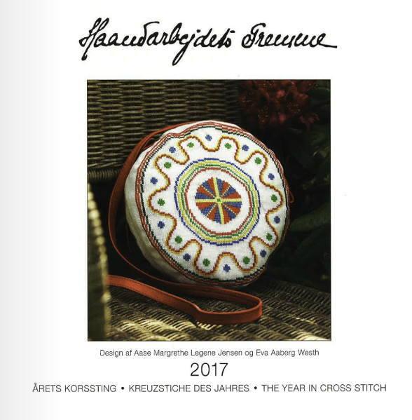 【DM便対応】フレメ 2017 カレンダー クロスステッチ 図案 Haandarbejdets Fremme calendar チャート ギルド 刺繍 92-2017
