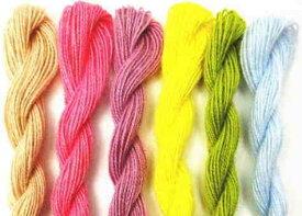 フレメ 花糸 (赤系) 4番〜205番 クロスステッチ刺繍糸 デンマーク
