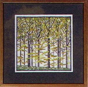 フレメ クロスステッチ刺繍キット 【ブナの森】 デンマーク 刺繍 北欧 上級者 30-6403
