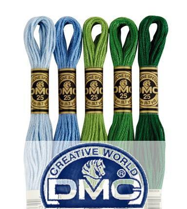 【DM便対応】DMC (赤系) 816番〜819番 25番 刺繍糸 クロスステッチ 糸 刺しゅう dmc