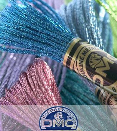 【DM便対応】DMC ラメ E130番〜E3852番 20色 25番 ライトエフェクト Jewel Effects/Precious Metal Effects クロスステッチ 糸 刺しゅう 刺繍糸 フランス