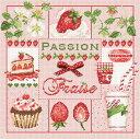 【送料無料】Madame La Fee イチゴの情熱 Passion Fraise マダムラフェ クロスステッチ キット フランス