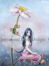 Heaven And Earth Designs クロスステッチ刺繍図案 HAED 輸入 上級者 Alexandra Dawe イトトンボ Damsel Fly Damsel Fly 全面刺し