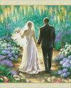 クロスステッチ刺繍 図案 輸入 Heaven And Earth Designs (HAED) 結婚 ウェディング Mini Happily Ever After 全面刺…