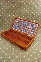 Sajou 木製ボックス Boîte de rangement en bois pour fils étiquette cocons ...