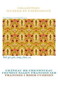 Sajou ククロスステッチ刺繍図案 輸入 Grille de point de croix : le salon Franois Ier Sajou フランス メゾンサジュー GRI_PDC_MUP_CHEN_04