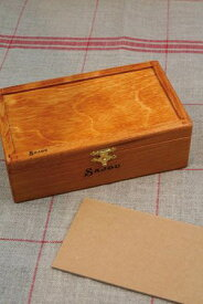 Sajou 木製ボックス キット Boîte à broder rectangulaire en bois 保管 収納 ケース フランス メゾンサジュー KIT_PDC_BTE_BS_01