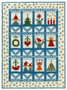 フレメ 【クリスマスの窓】 クロスステッチ刺繍キット デンマーク 北欧 輸入 上級者 30-5944