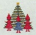 フレメ クロスステッチ 刺繍キット 【クリスマスイブ 】 小さい作品 デンマーク 輸入ししゅうキット
