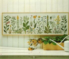 フレメ クロスステッチ刺繍キット 【海岸の花】 輸入 デンマーク 北欧 上級者 30-5406