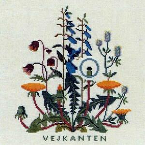 フレメ クロスステッチ刺繍キット 【路傍の花】 デンマーク 北欧 輸入 上級者 30-5447