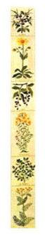 fureme Brændevinsurter白兰地香草10B十字花刺绣Haandarbejdets Fremme配套元件丹麦刺绣北欧行会11-4630