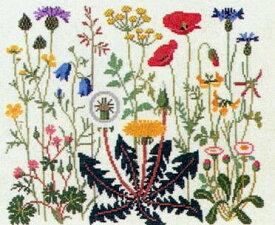 フレメ クロスステッチ刺繍キット 【夏の花】 輸入 上級者 デンマーク ゲルダベングトソン 30-4726