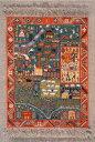 プチポアン刺繍キット 輸入 ル・ボヌール・デ・ダム Le Bonheur des Dames 刺しゅう Tapis azeri アゼルバイジャンの…