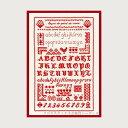 クロスステッチ刺繍キット ルボヌールデダム Le Bonheur des Dames 刺しゅう Red cross stitch lesson フランス 上級…