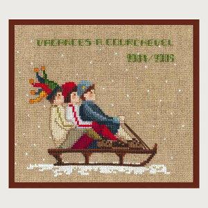 クロスステッチ刺繍キット ルボヌールデダム Le Bonheur des Dames 刺しゅう A three on the sledge フランス 初心者 2326