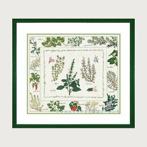 クロスステッチ刺繍キット 輸入 ルボヌールデダム Le Bonheur des Dames 刺しゅう Herbaria 植物園 フランス 上級者 1191