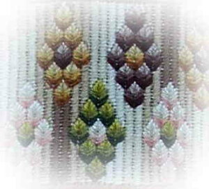 Reflets de Soie 刺繍チャート 図案 【Petit Bonheur n°16】 Isabelle Mazabraud Kerlan フランス PB16