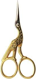 ペルミン Storkesaks コウノトリはさみ 手芸用 デンマーク製 クロスステッチ フランス刺繍 5250