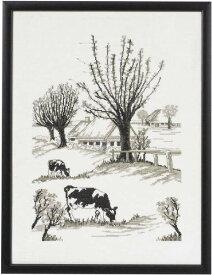 PERMIN 牛 Brewed cows クロスステッチ 刺繍 キット デンマーク ペルミン 90-1109 【DM便対応】