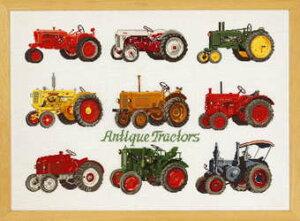 PERMIN トラクター Traktorer クロスステッチ 刺繍 キット デンマーク ペルミン 70-9455 【送料無料】