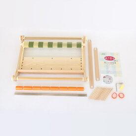 Clover 手織り機「咲きおり」60cm<40羽セット> 57-952|洋裁 yousai ソーイング sewing 手芸 裁縫 ホリウチ