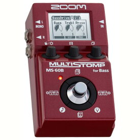 ZOOM 《ズーム》 MULTI STOMP MS-60B [for Bass] 【ef_p5】
