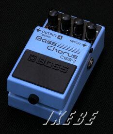 BOSS 《ボス》 CEB-3 Bass Chorus【IKEBE×BOSSオリジナルデザイン風呂敷プレゼント】【ef_p5】