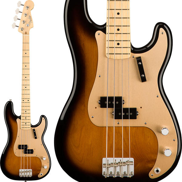 Fender 《フェンダー》American Original '50s Precision Bass (2-Color Sunburst) [Made In USA] 【お取り寄せ品】【FENDER THE AUTUMN-WINTER 2018 CAMPAIGN】【b_p5】