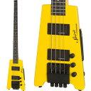 STEINBERGER 《スタインバーガー》 Spirit XT-2 STANDARD Bass (HY/Hot Rod Yellow)
