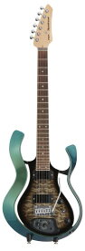 VOX 《ヴォックス》 Starstream Type 1 with DiMarzio VSS-1-24MGBB-Q (Metallic Green Frame with Black Burst Quilted Maple Top) 【生産完了特価】