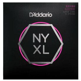 D'Addario 《ダダリオ》 NYXL Series 6-String Super Long Scale Electric Bass Strings [NYXL32130SL]