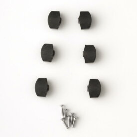 PRS 《ポール・リード・スミス/Paul Reed Smith》 ACC-4606-BP Black Plastic Tuner Buttons SET for S2 Tuners