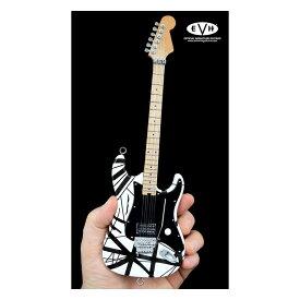 OFFICIAL EDWARD VAN HALEN MINI GUITARSEVH MINI GUITARS (Black and White) Eruption [オフィシャル・ミニチュアEVHレプリカ・ギター]