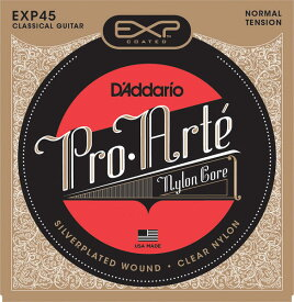 D'Addario 《ダダリオ》 Coated Silver Wound [EXP45 Normal]