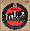 D'Addario 《ダダリオ》 Pro-Arte Classical Guitar Nylon Strings ×3セット [EJ45-3D/Normal T...