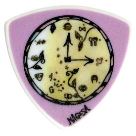 Sago New Material Guitars GIRLFRIEND NAGISA/Purple Clluloid Pick ×10枚セット 【即納可能!】