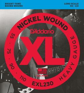 D'Addario 《ダダリオ》 XL Nickel Round Wound EXL230