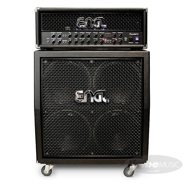 ENGL 《エングル》 POWERBALL II w/EL34 [E645/2SE] + 4x12 Pro Cabinet [E412VSB] SET 【購入特典3点セット付き】