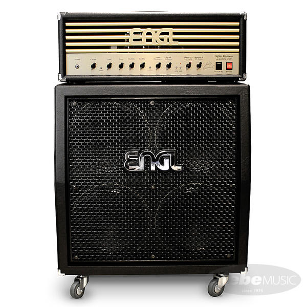 ENGL 《エングル》 Ritchie Blackmore Signature 100 [E650/2] + 4x12 Pro Cabinet [E412VSB] SET 【購入特典3点セット付き】