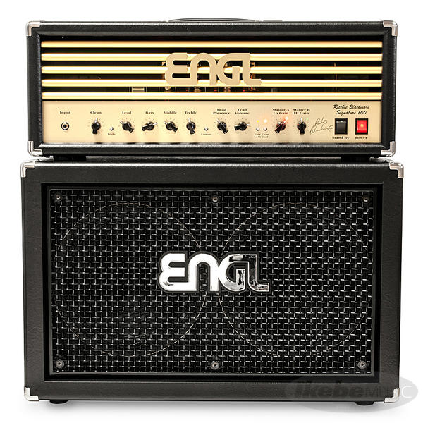 ENGL 《エングル》 Ritchie Blackmore Signature 100 [E650/2] + 2x12 Pro Cabinet [E212VHB] SET 【購入特典3点セット付き】