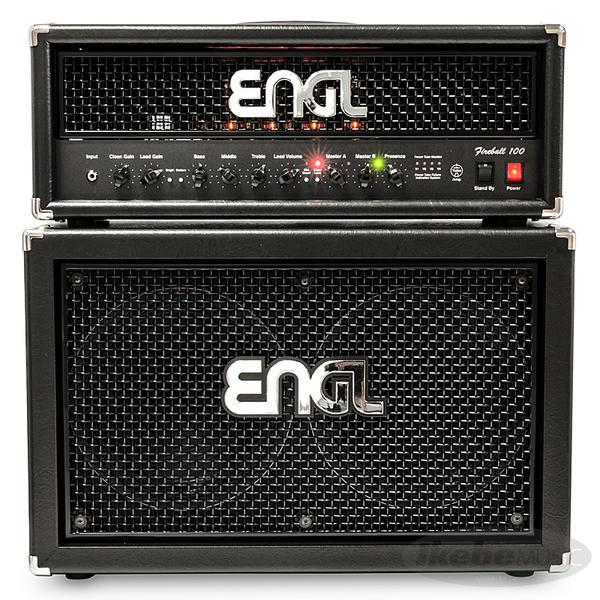 ENGL 《エングル》 Fireball 100 [E635] + 2x12 Pro Cabinet [E212VHB] SET 【購入特典3点セット付き】