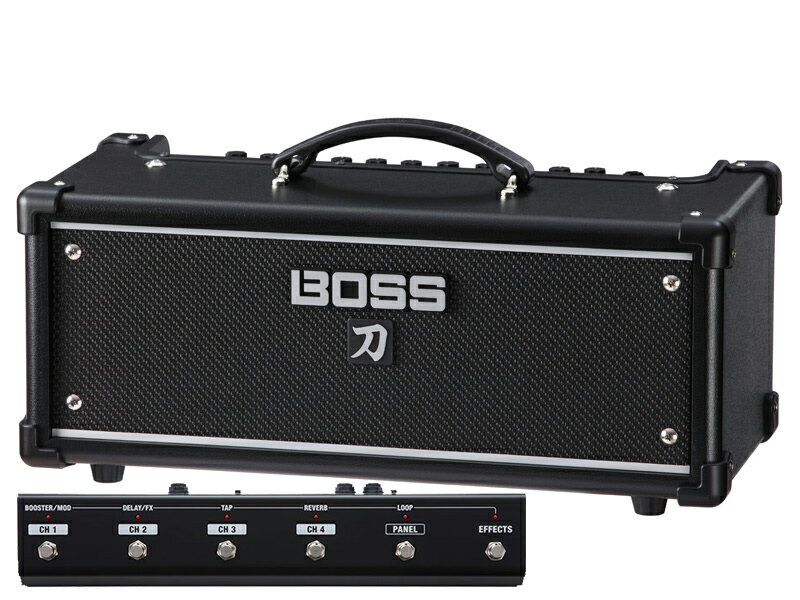 BOSS 《ボス》 KATANA-HEAD [Guitar Amplifier] 【フットコントローラーGA-FC付きお買い得セット】【限定特価】