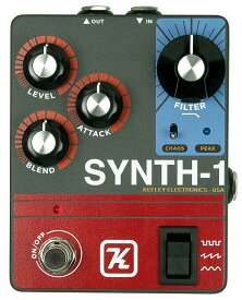 Keeley Electronics 《キーリー》 Synth-1 Reverse Attack Fuzz Wave Generator 【今がチャンス!円高還元セール!】